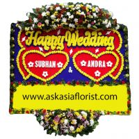 Papan Happy Wedding C10